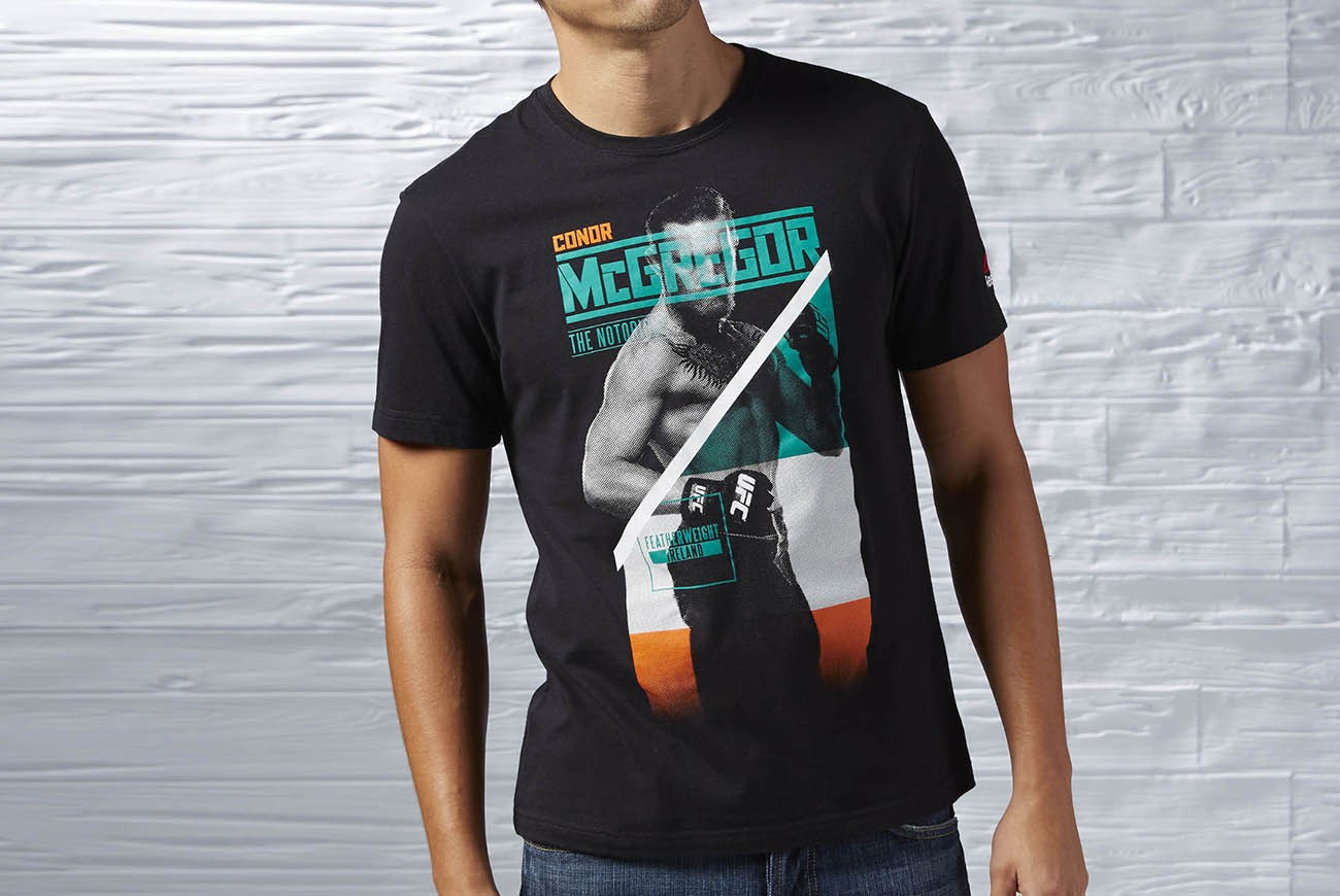 KOSZULKA MCGREGOR FIGHTER TEE