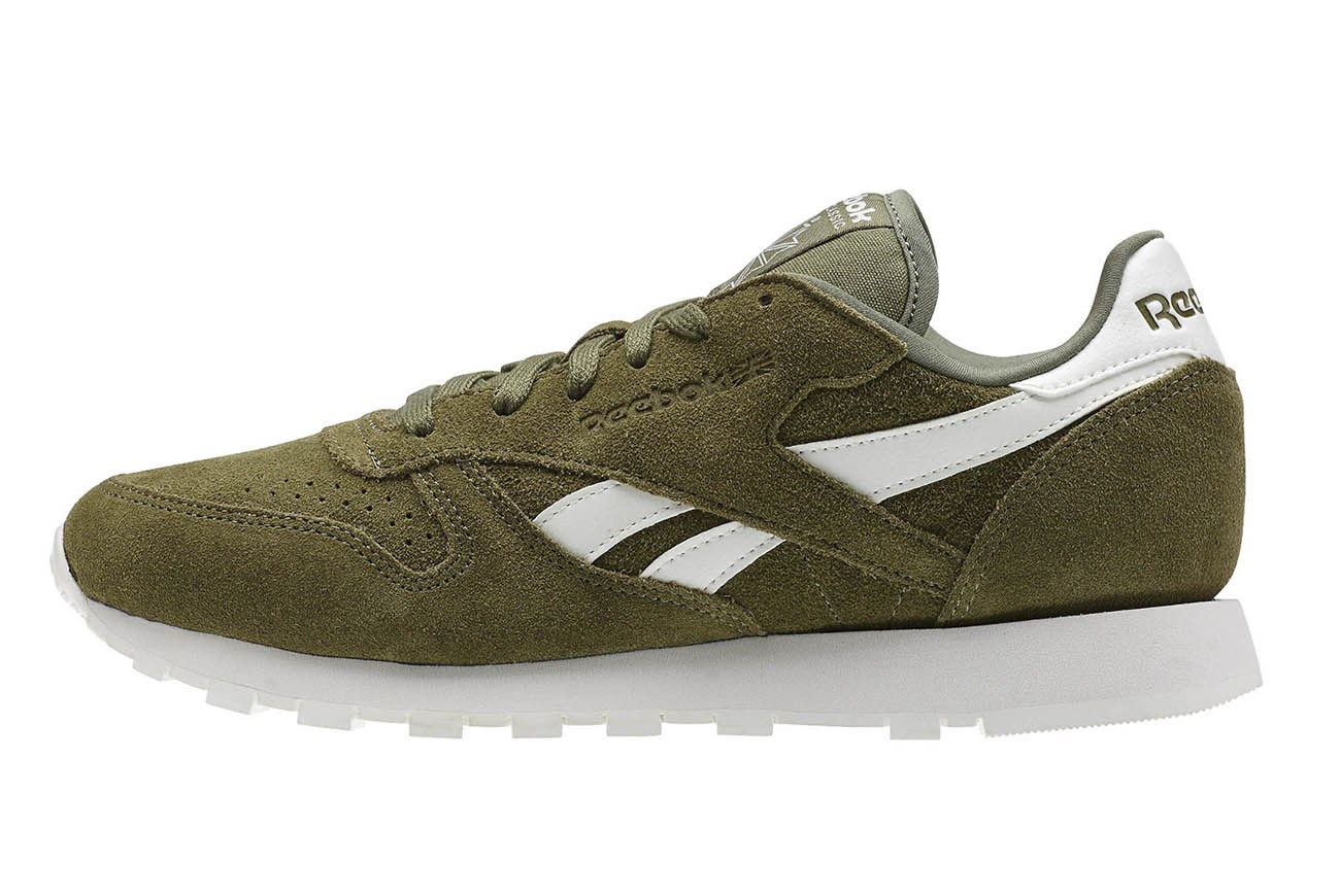 Reebok Classic Leather Zielone