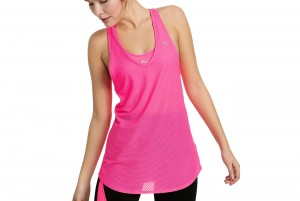 Top Mesh It Up Layer Tank KNOCKOUT