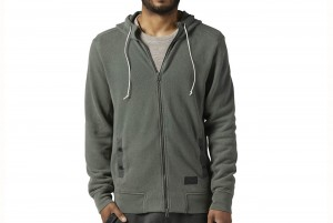 BLUZA Z DL. REKAWEM Noble Fight Washed Hoodie