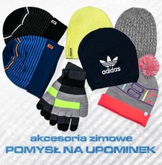 Czapki rękawiczki akcesoria zimowe