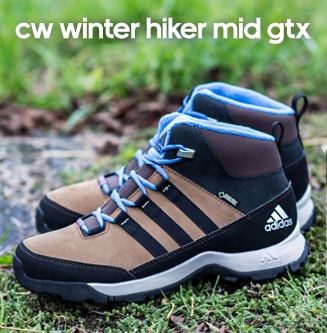 Winer hiker