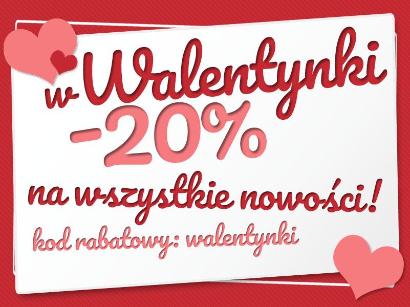 Walentynkowa promocja w sklepie internetowym ACTIVE!