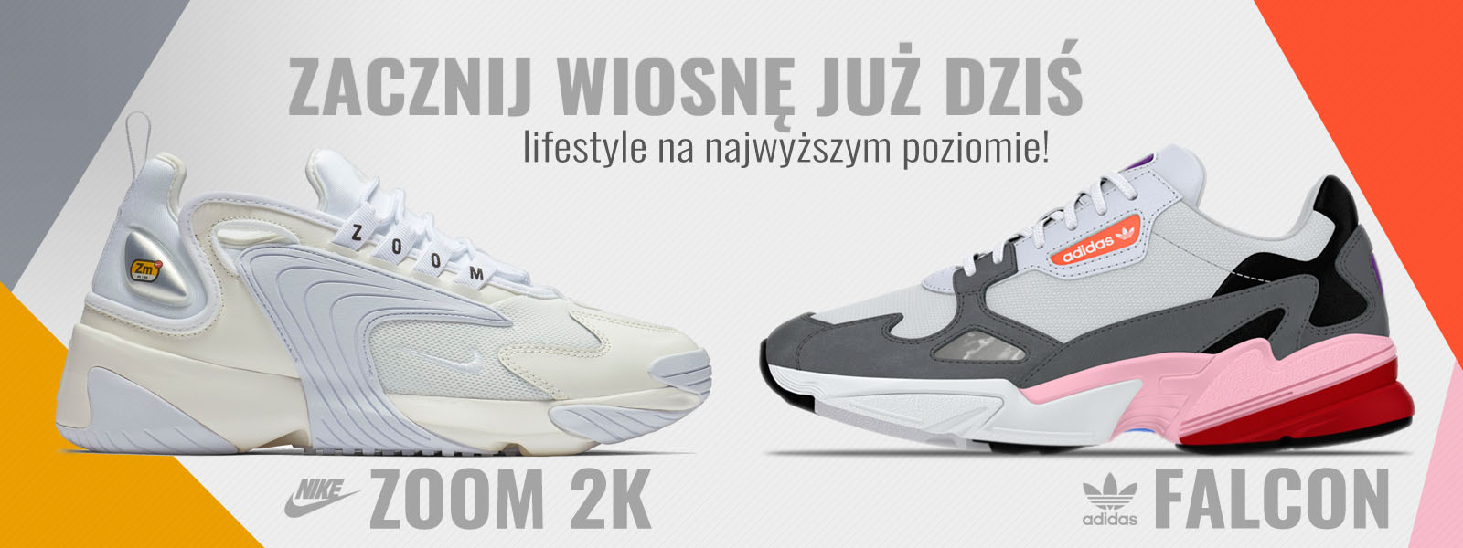 Nike ZOOM 2k vs. adidas FALCON