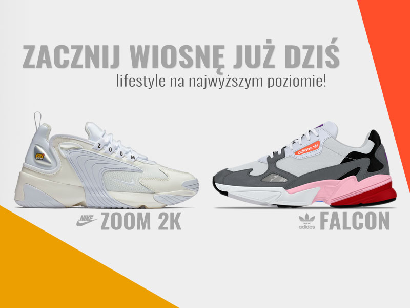 cheap for discount 1cf43 72114 ... Nike ZOOM 2k vs. adidas FALCON