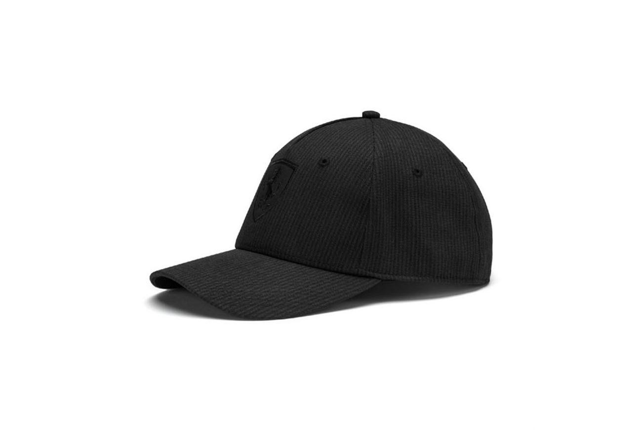 Czapka Ferrari LS BB Cap Puma Black