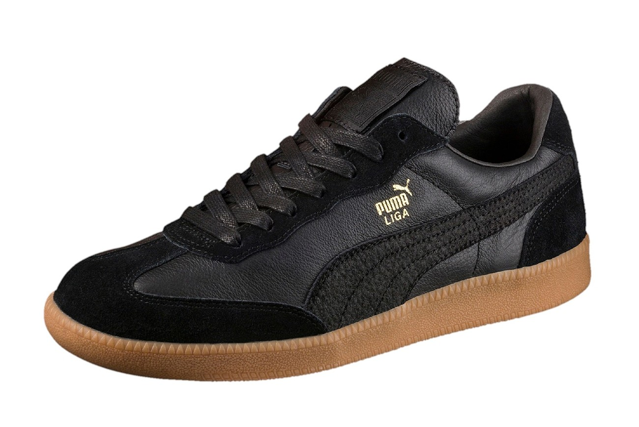 Buty Liga Leather Puma Black-Puma Black