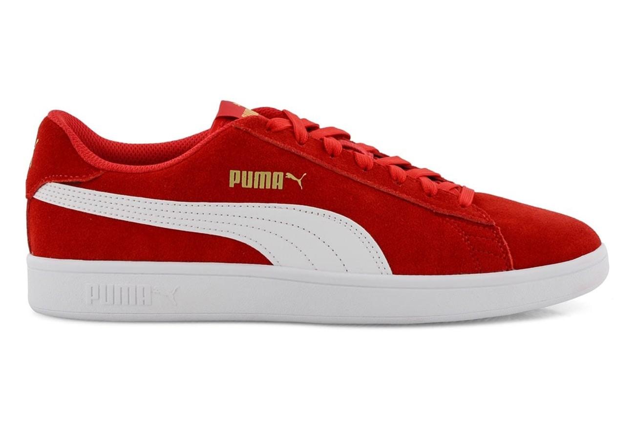Buty Puma Smash v2 High Risk Red-Puma White-P