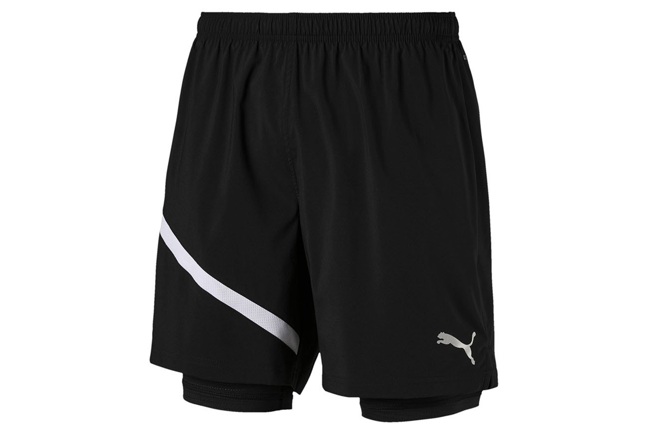 "Szorty ""Ignite 2in1 7"""" Short Puma Black-Puma Whi"""