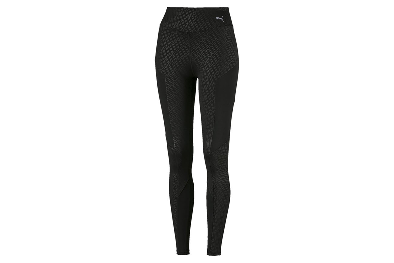 Spodnie Bold Graphic FullTight Puma Black-Emboss