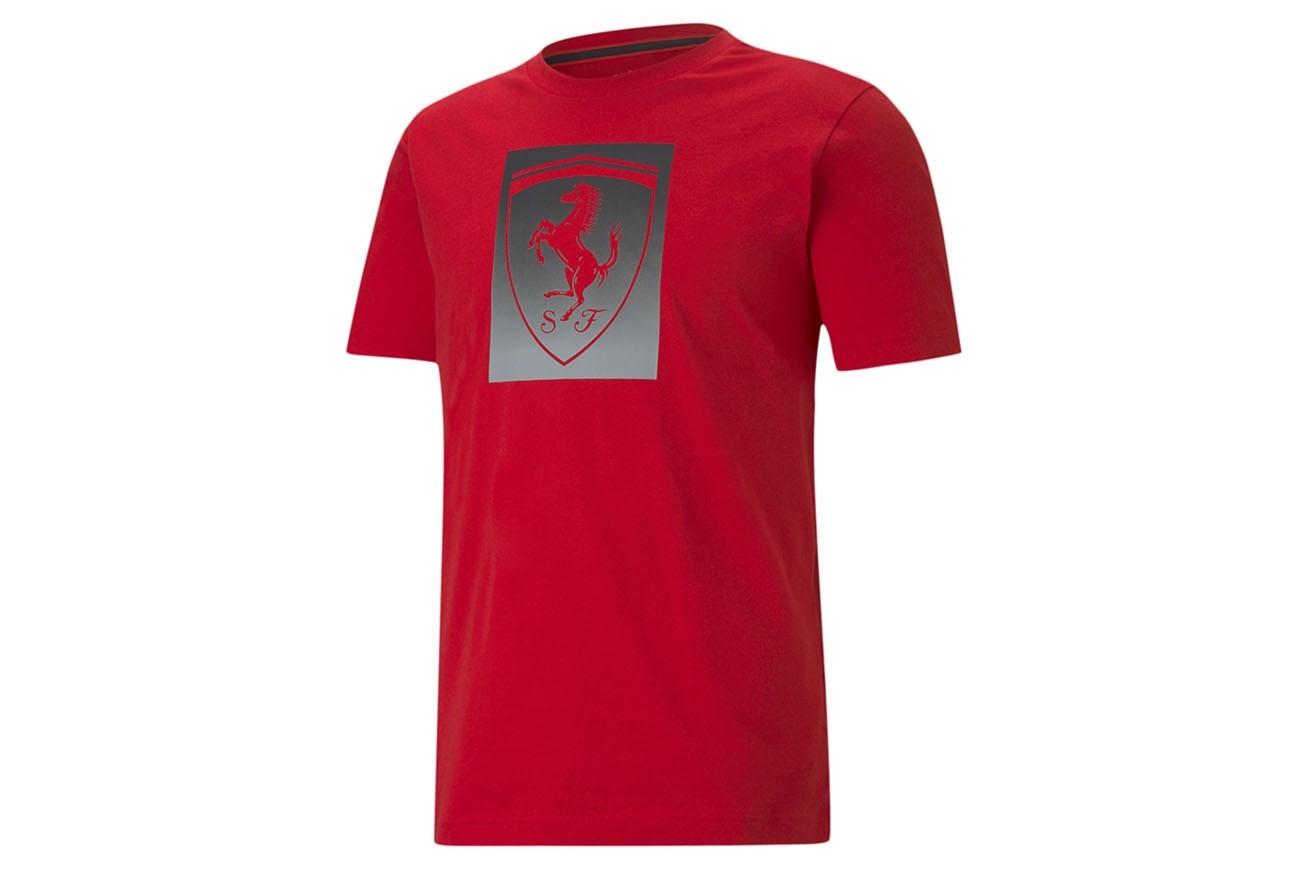 Koszulka Ferrari Race Big Shield Tee col