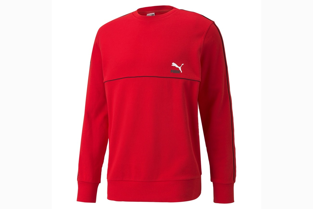bluza CLSX Piped Crew TR High Risk Red