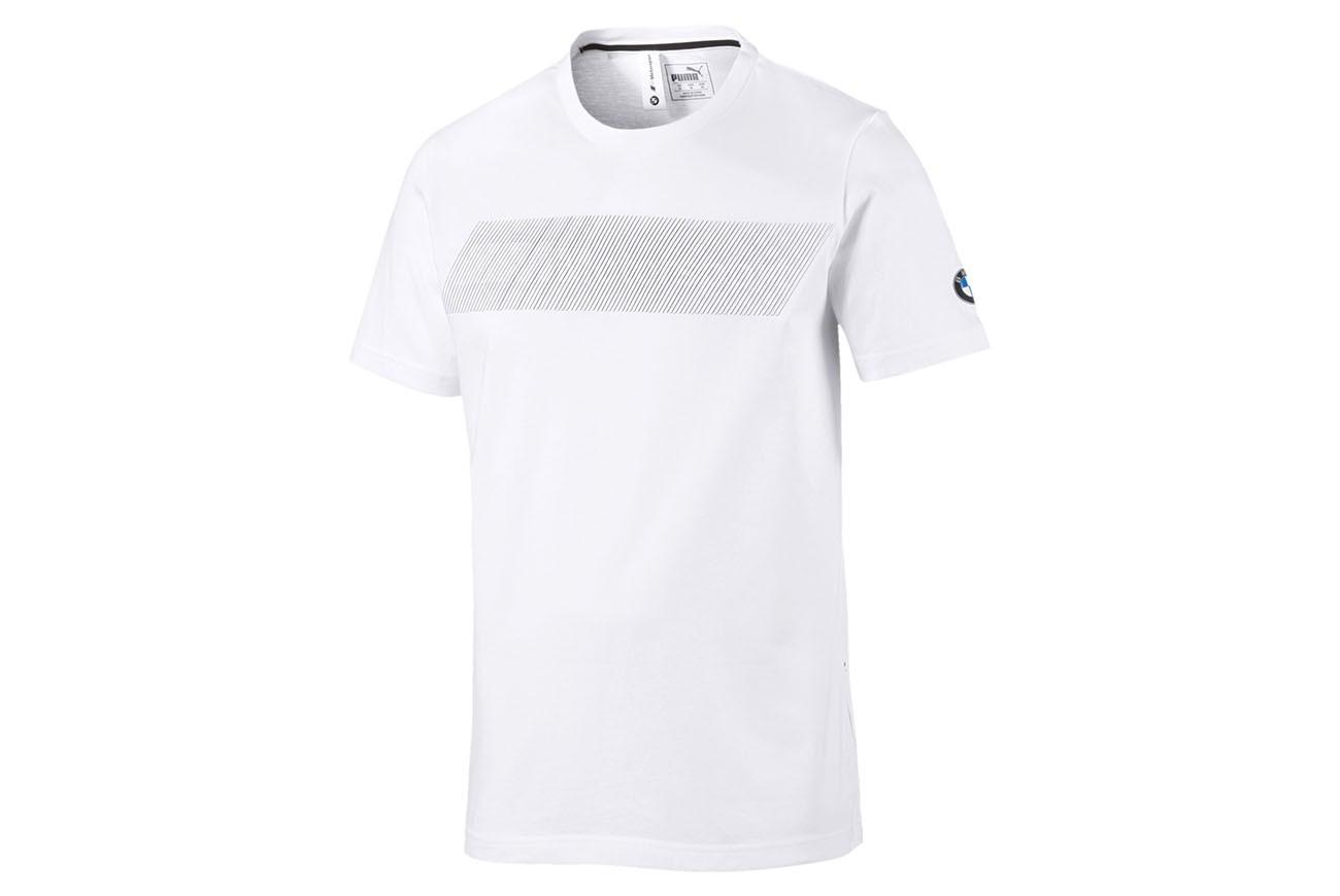 Koszulka BMW MMS Logo Tee + Puma White