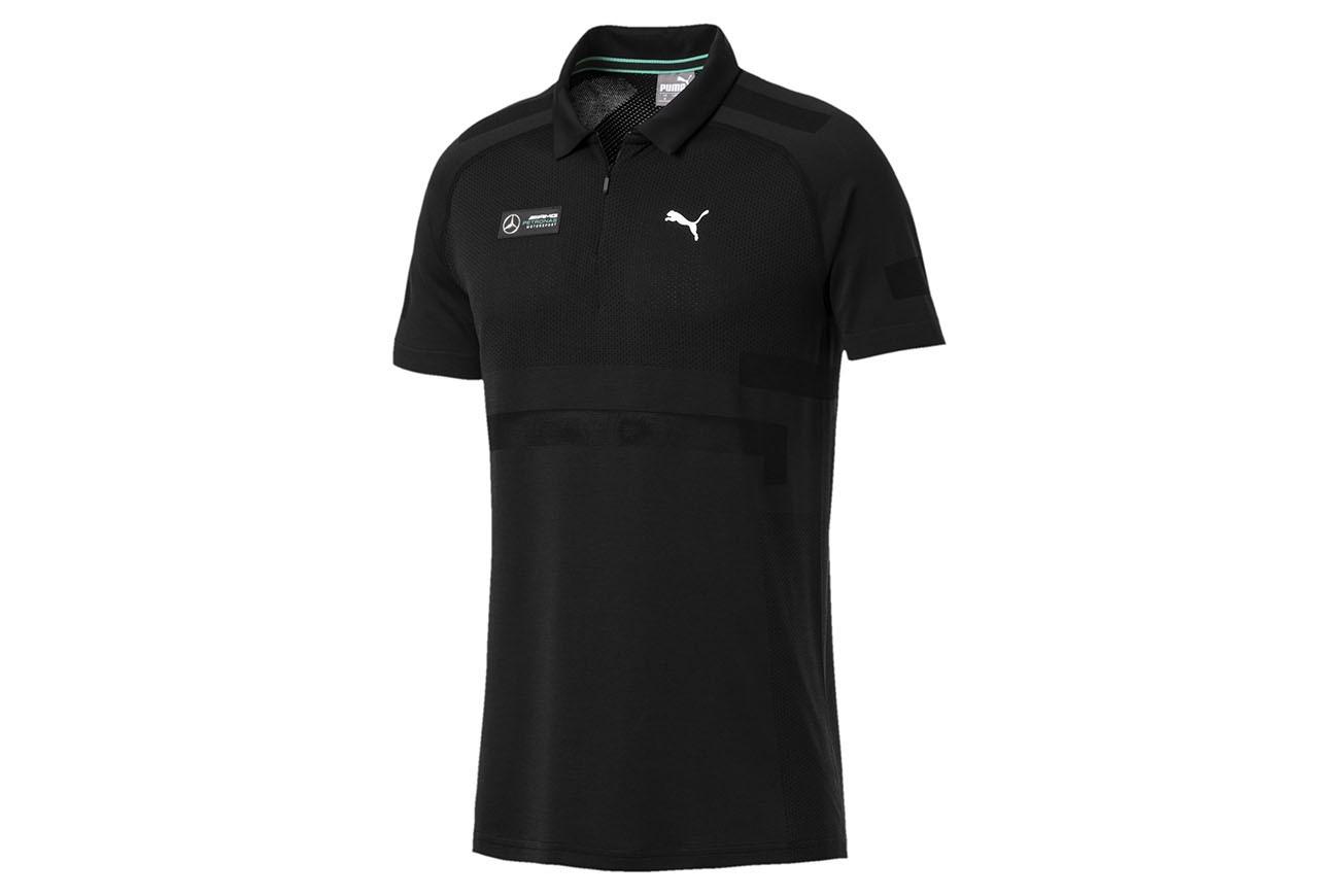Koszulka MAPM evoKNIT Polo Puma Black