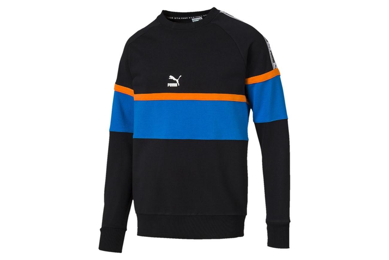 Bluza PUMA XTG Crew Cotton Black