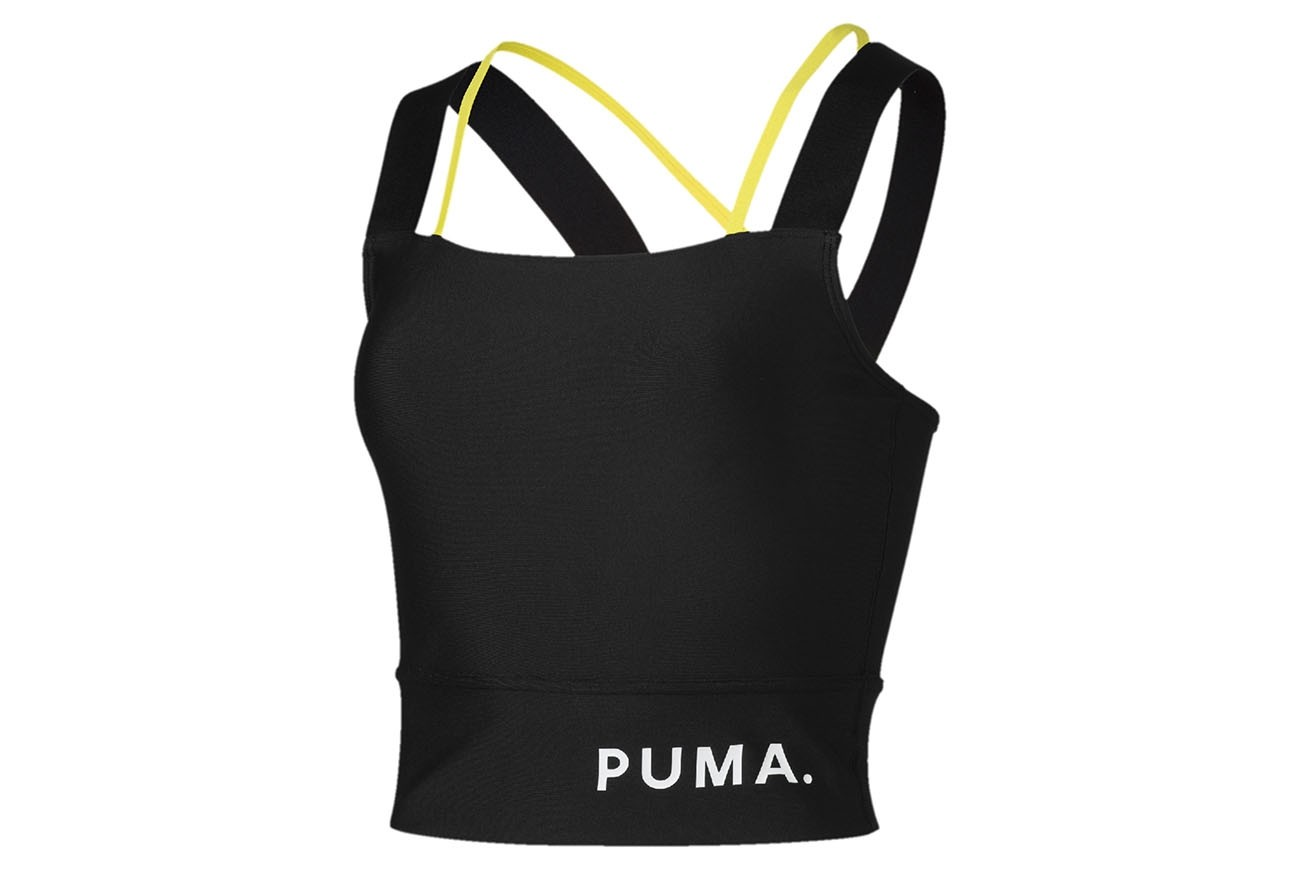 Bluzka Chase Crop Top Puma Black