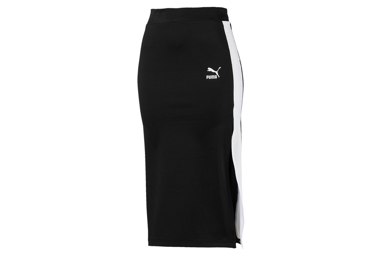 Spódnica Classics Rib Skirt Puma Black