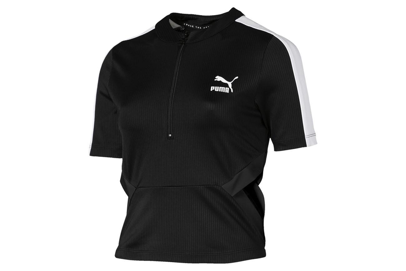 Koszulka Classics Rib Top Puma Black