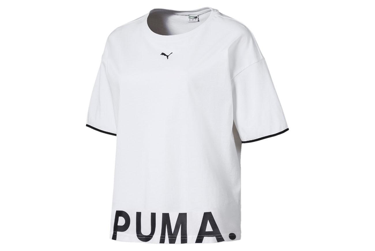 Koszulka Chase Cotton Tee Puma White
