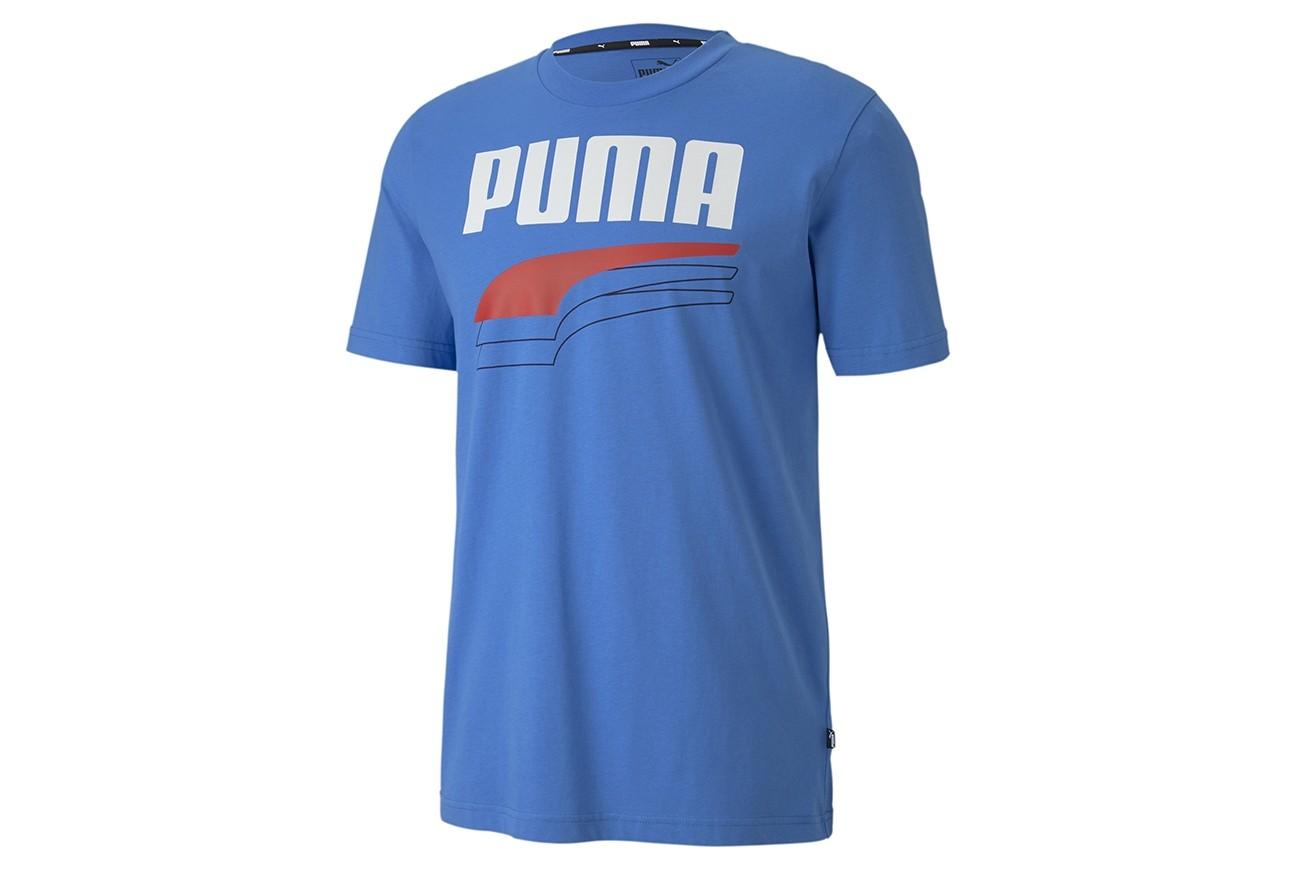 Koszulka REBEL Bold Tee Palace Blue