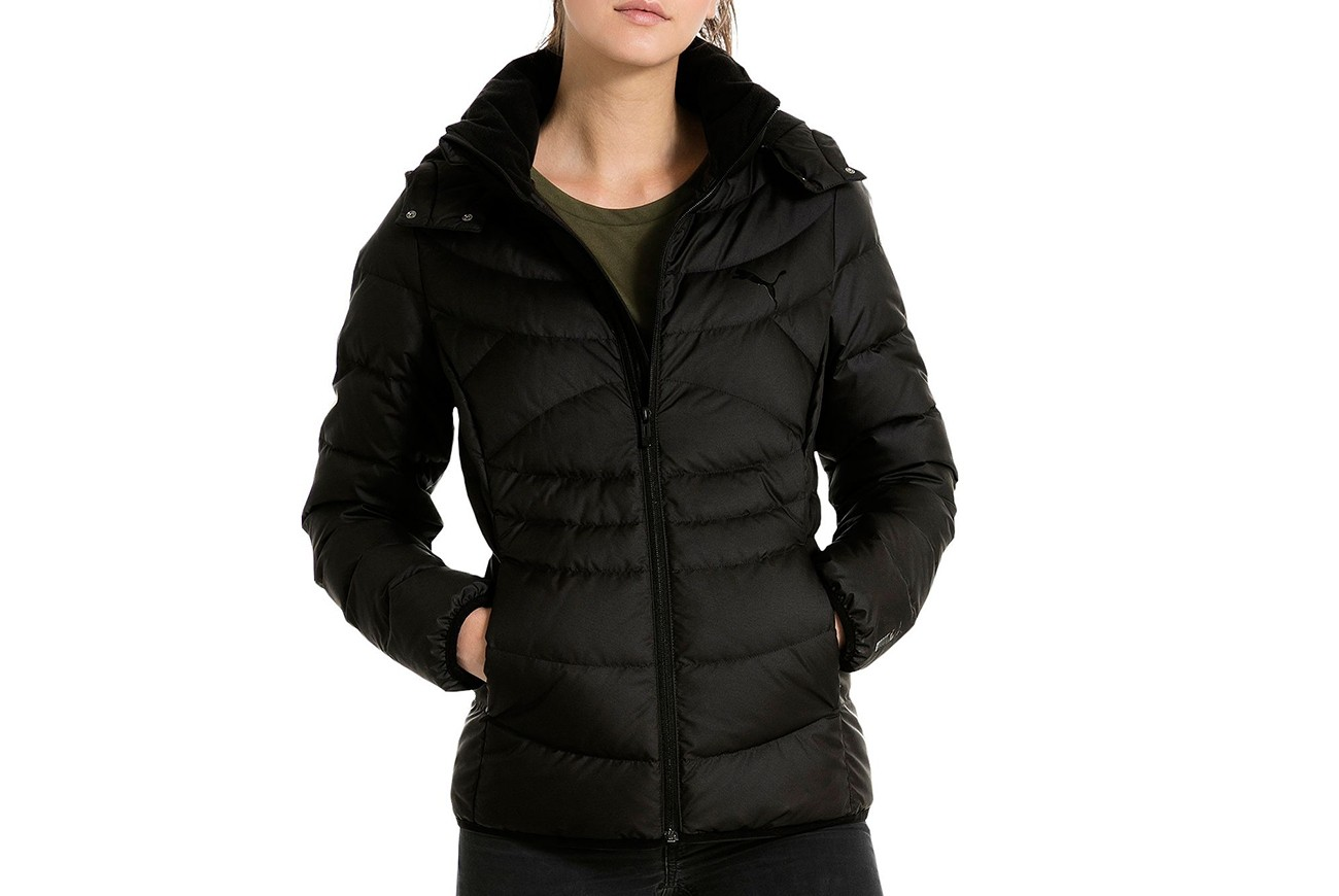 Kurtka Ess 400 Hooded Down Jacket W Puma Black