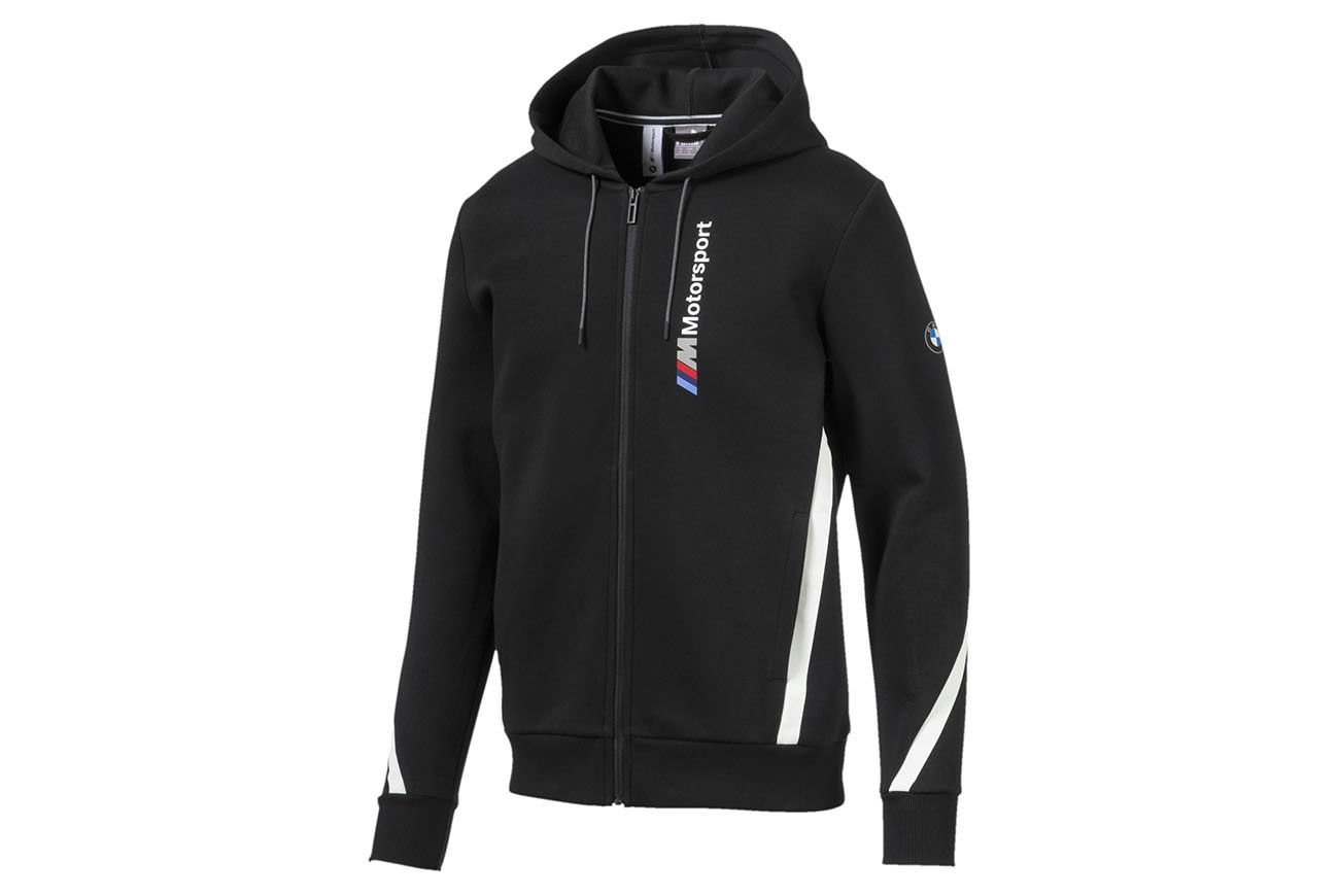 Bluza BMW MMS Hooded Sweat Jacket Puma Black