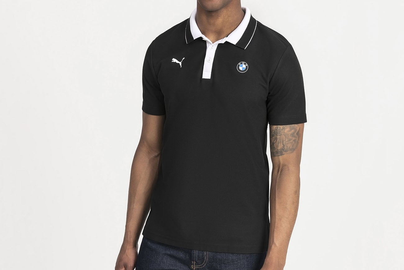 Koszulka polo BMW MMS Polo Puma Black
