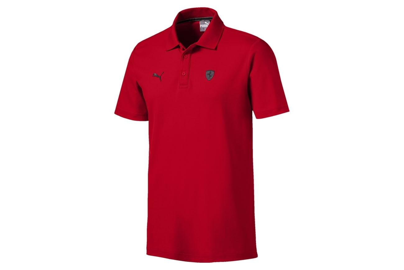 Koszulka polo Ferrari Polo Rosso Corsa