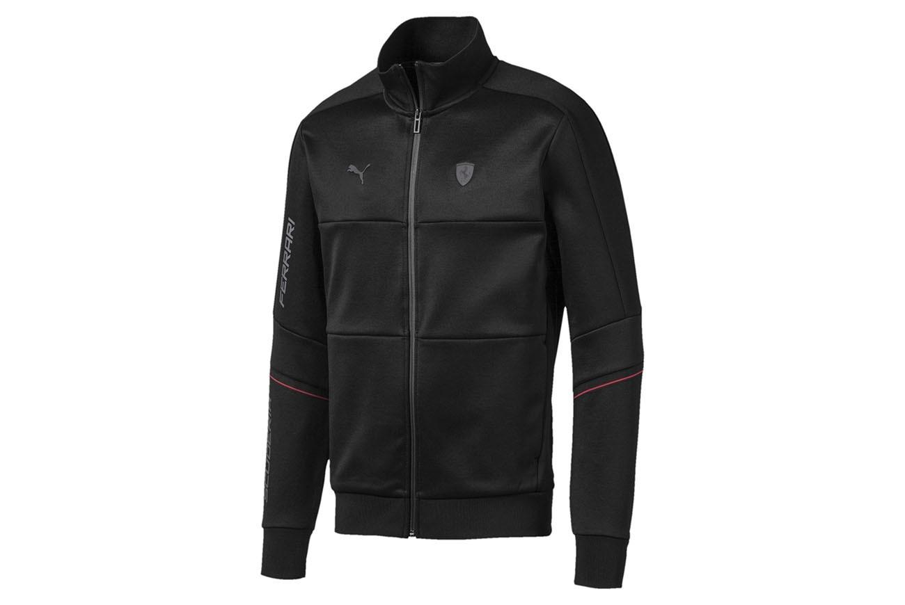 Bluza Ferrari T7 Track Jacket Puma Black