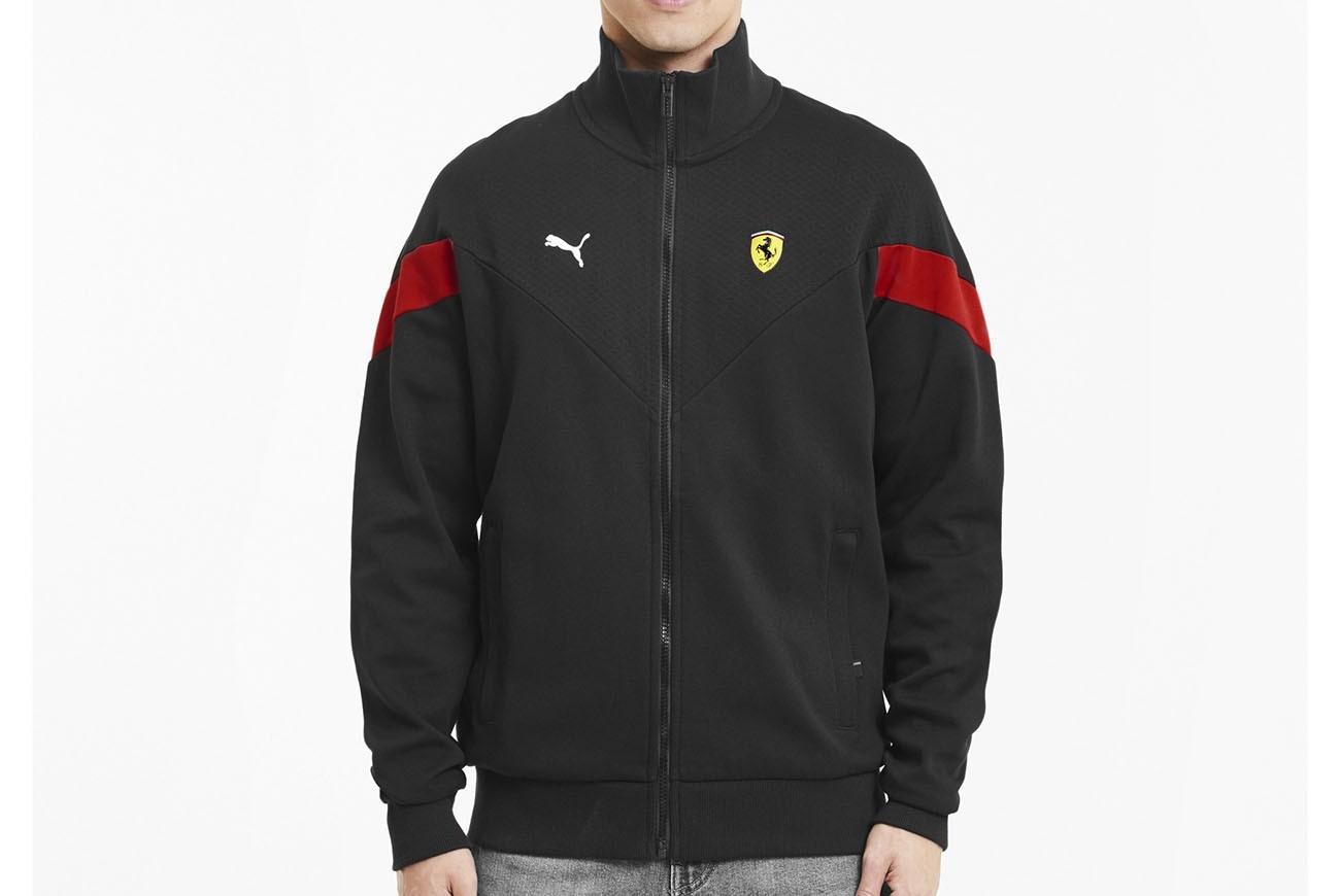 bluza Ferrari Race MCS Sweat Jkt Puma Bl