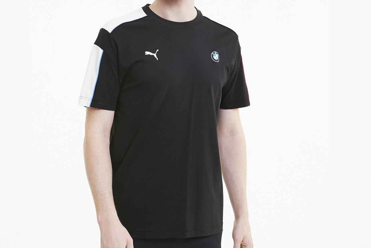 koszulka BMW MMS T7 Tee Puma Black