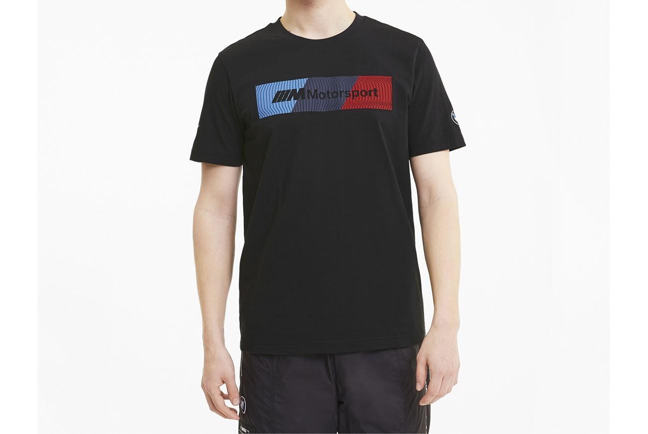 koszulka BMW MMS Logo Tee+ Puma Black