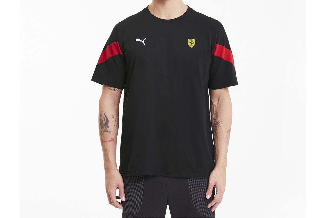 koszulka Ferrari Race MCS TeePuma Black