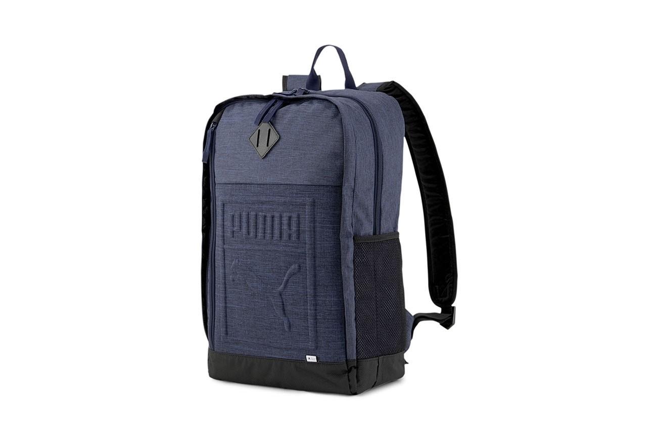 PLECAK PUMA S Backpack Peacoat-Heather