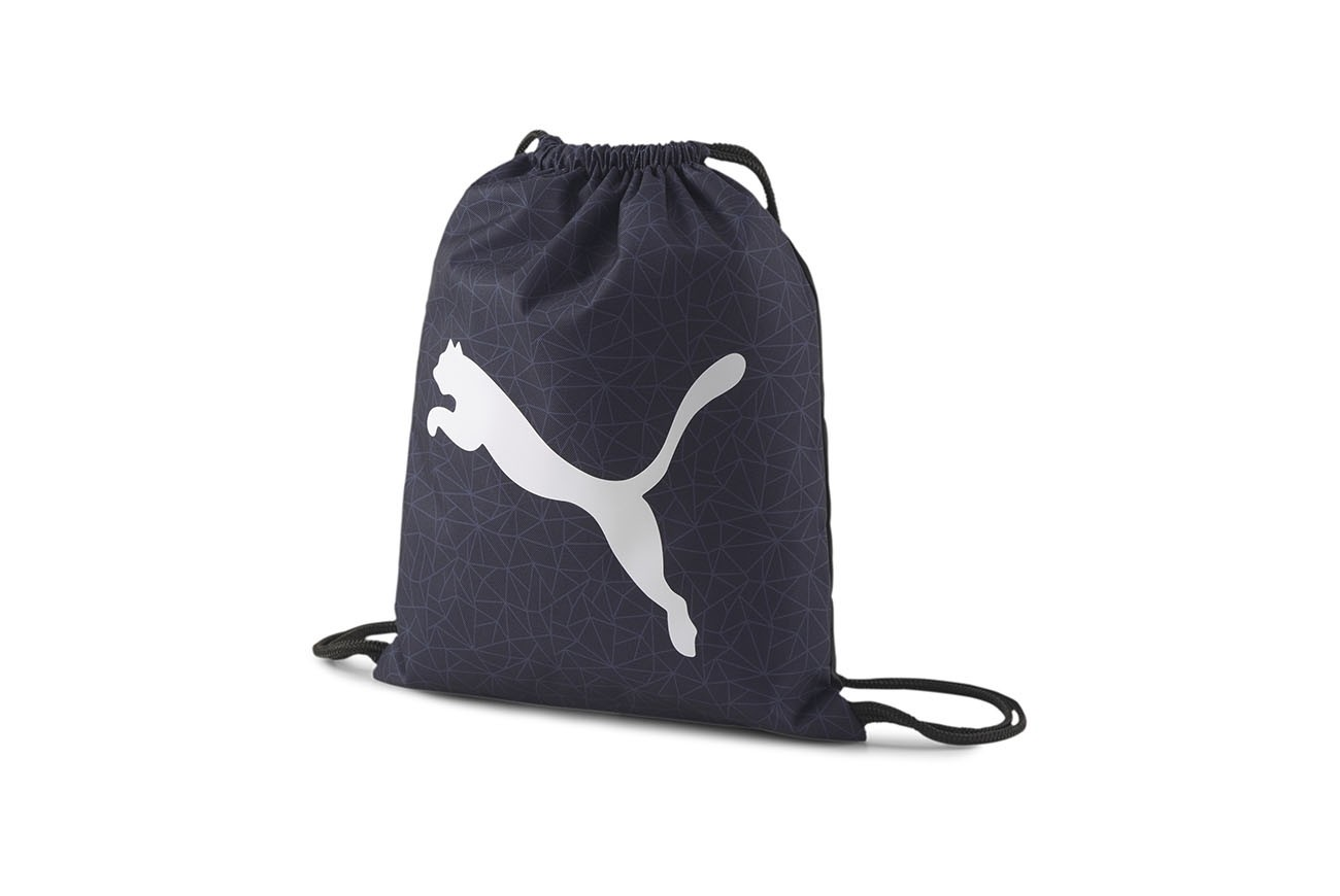 WOREK PUMA Beta Gym Sack Peacoat-AOP
