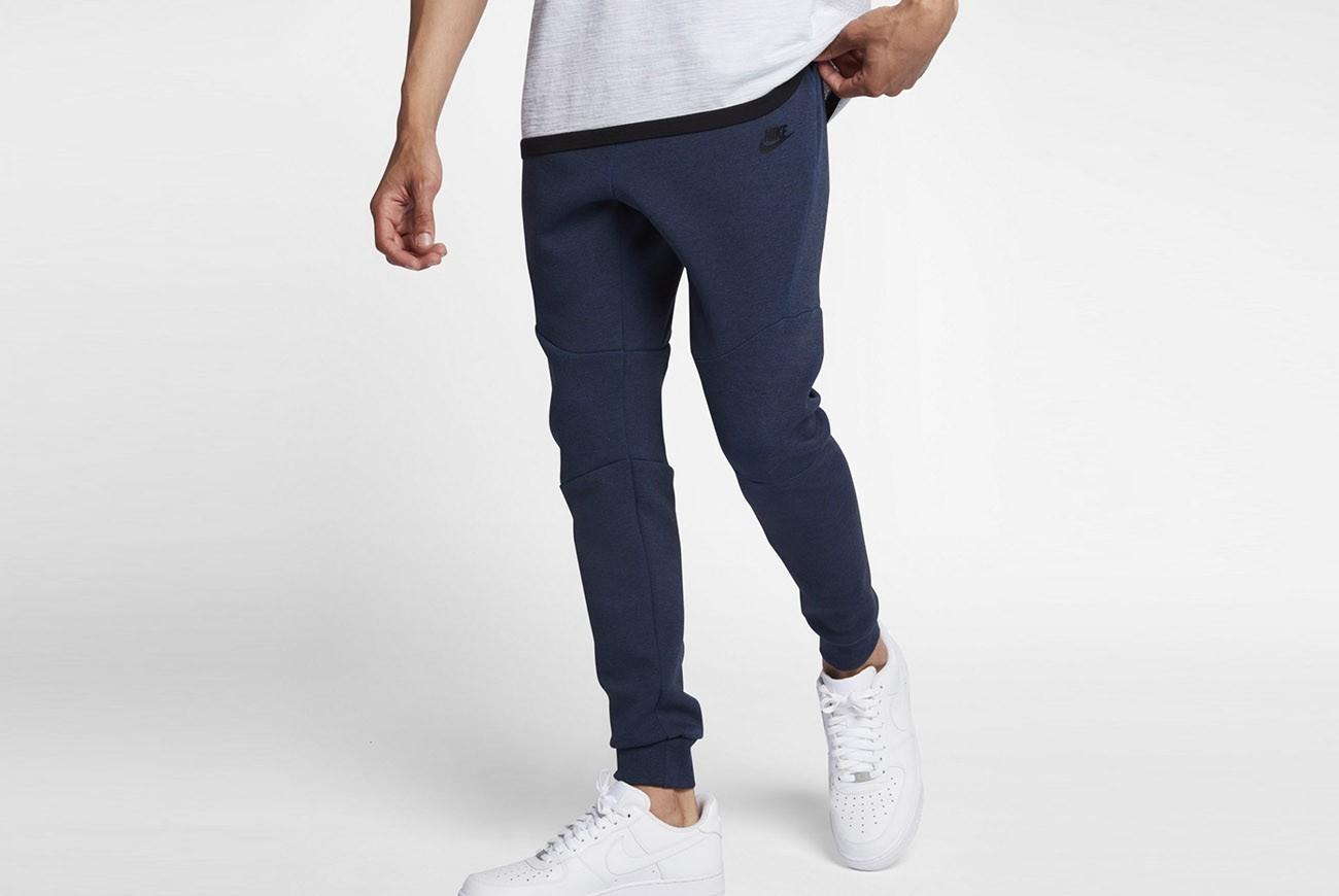 Spodnie M NSW TCH FLC JGGR