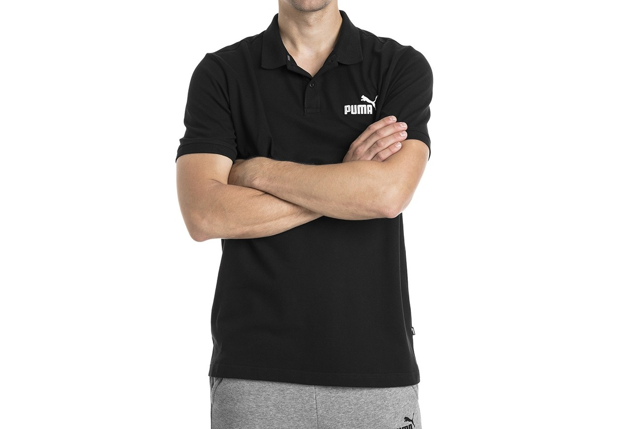 Polo ESS Pique Polo Cotton Black