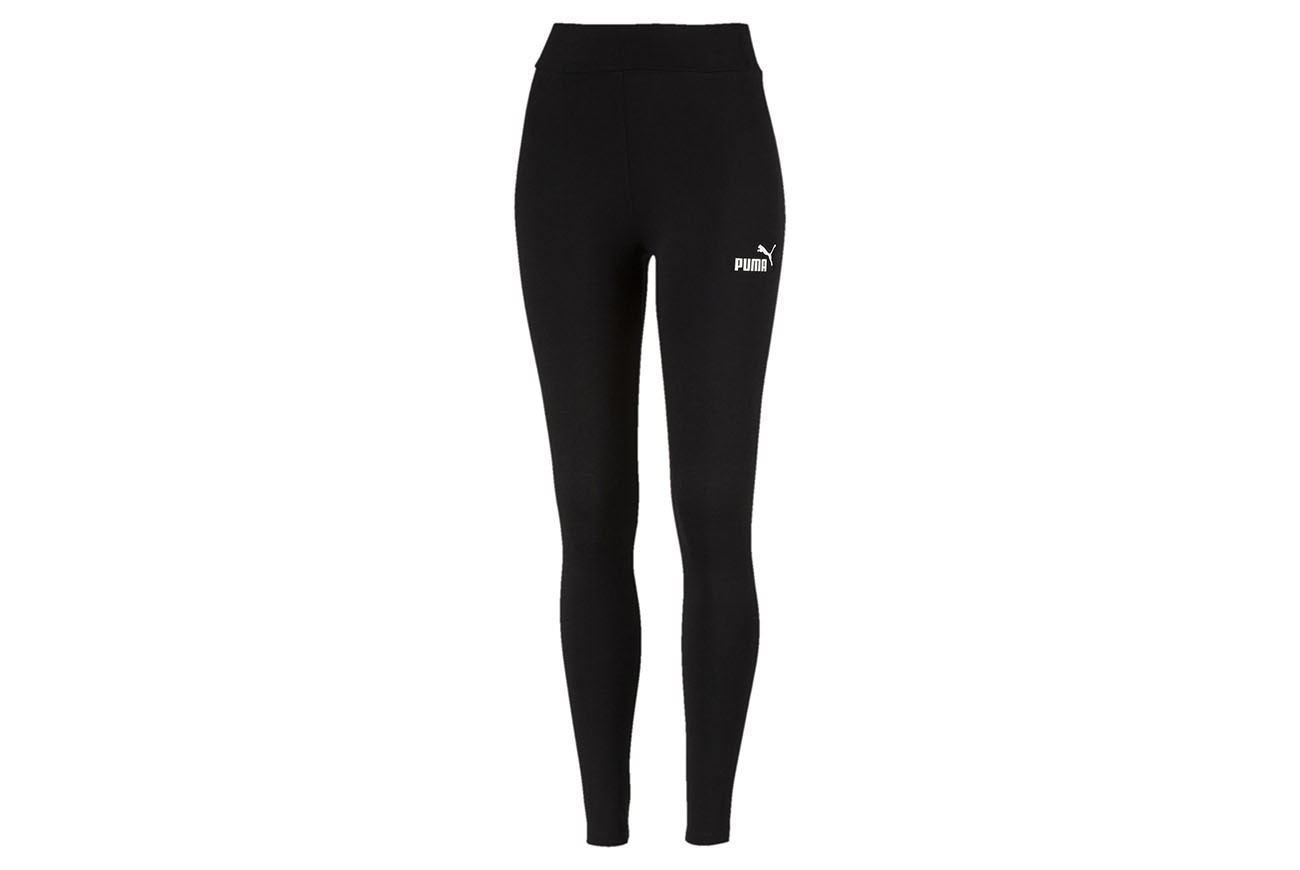Spodnie ESS Leggings Cotton Black