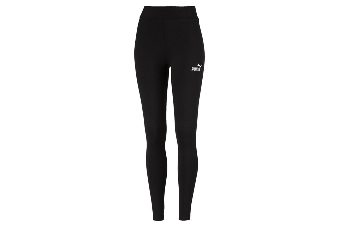Spodnie ESS Leggings Cotton Black