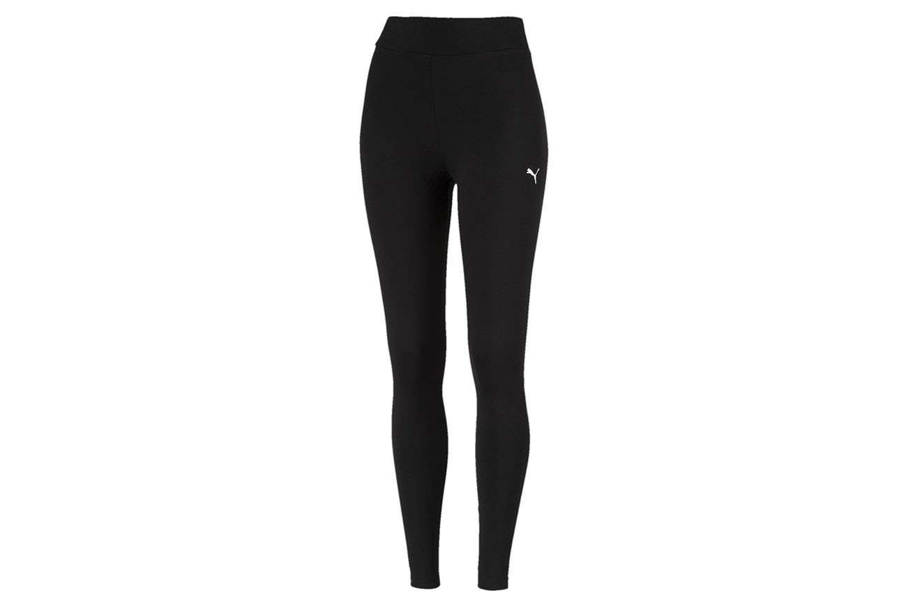 Spodnie ESS Leggings Cotton Black-Cat