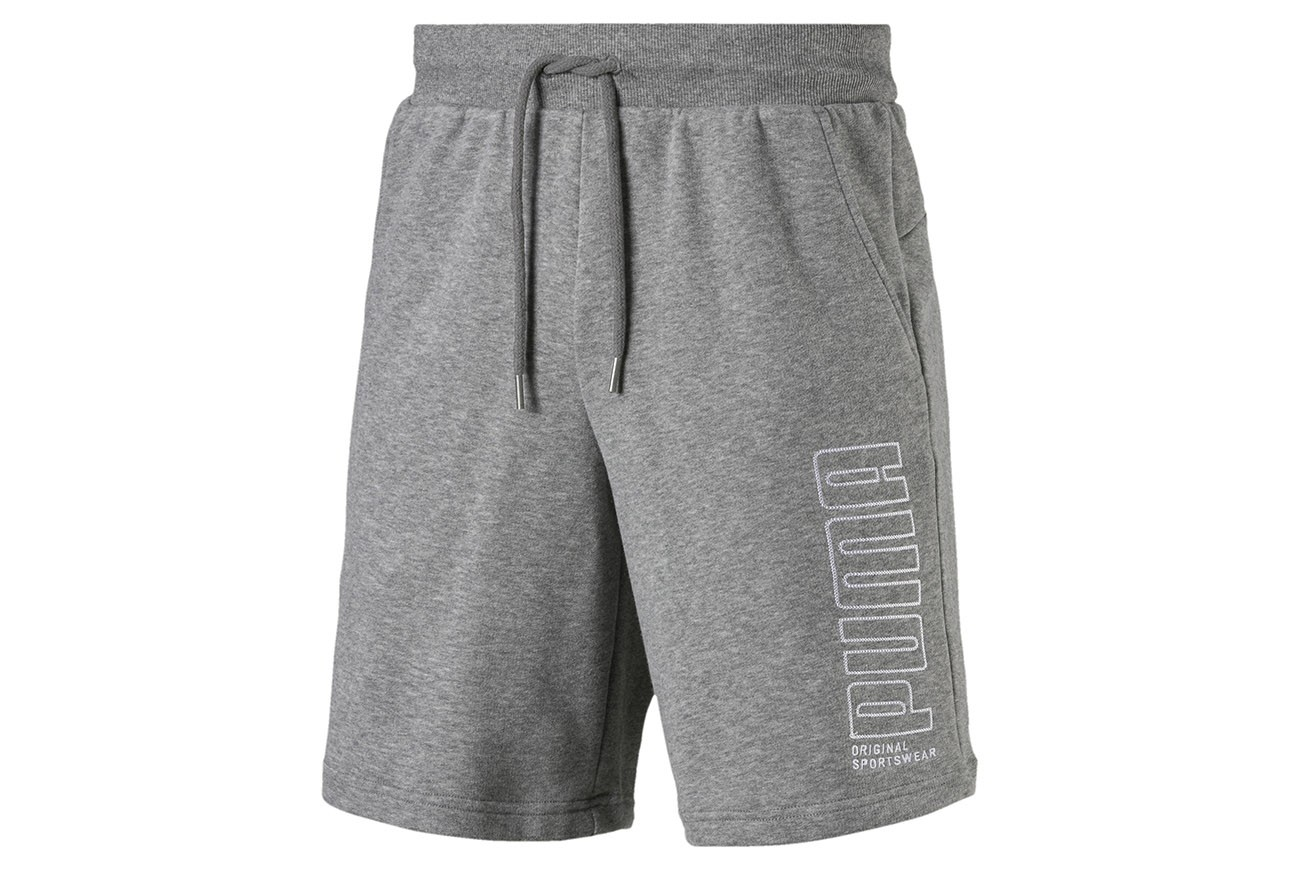 "Szorty ""Athletics Shorts 8"""" TR Medium Gray Heath"""