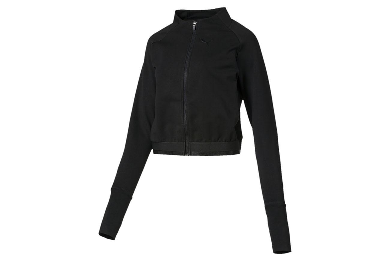 Bluza Soft Sports Jacket Puma Black