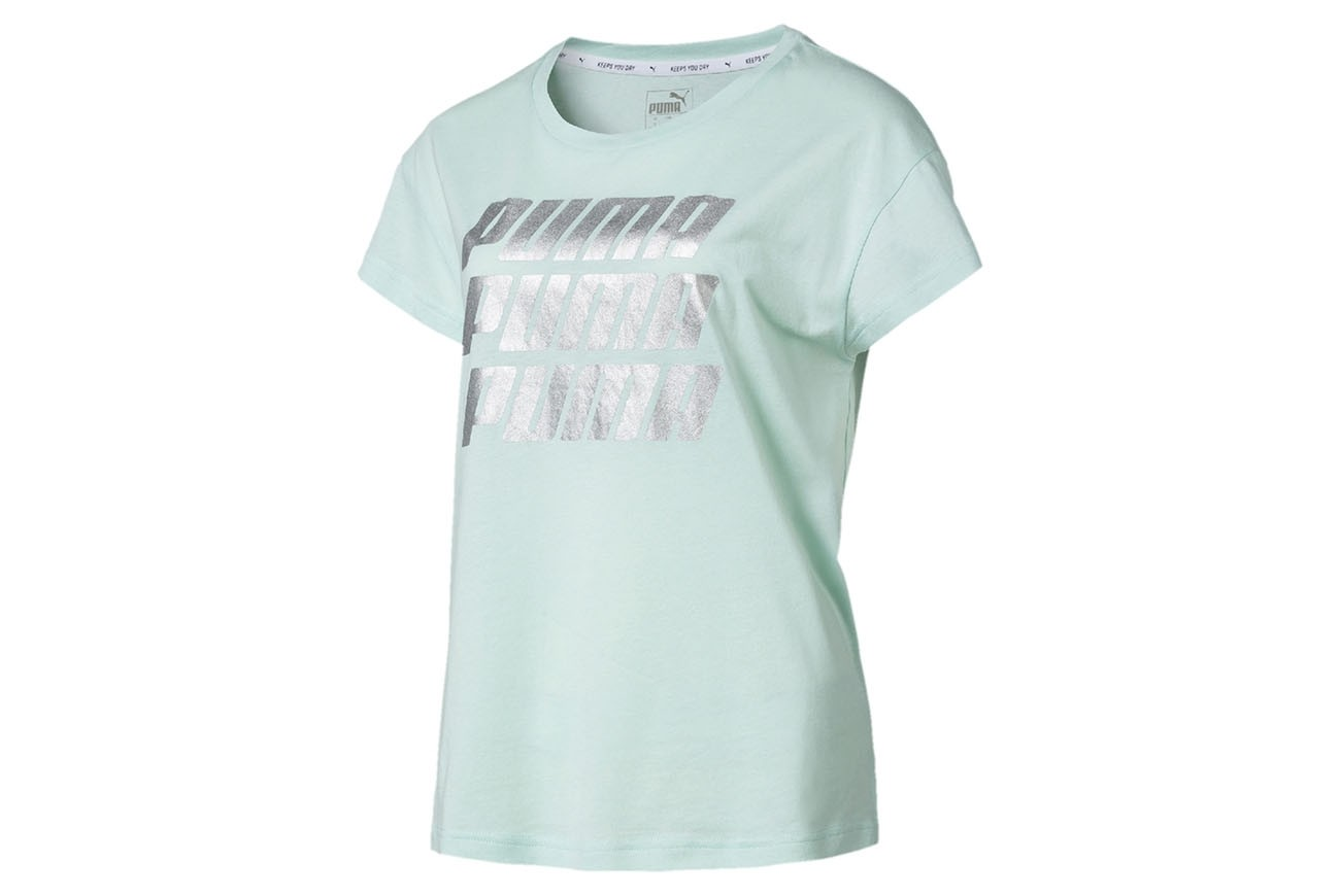Koszulka Modern Sports Graphic Tee Fair Aqua-Silv