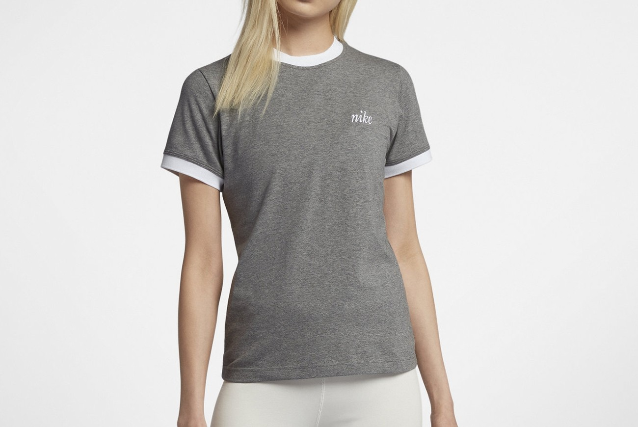 Koszulka W NSW TOP SS RINGER