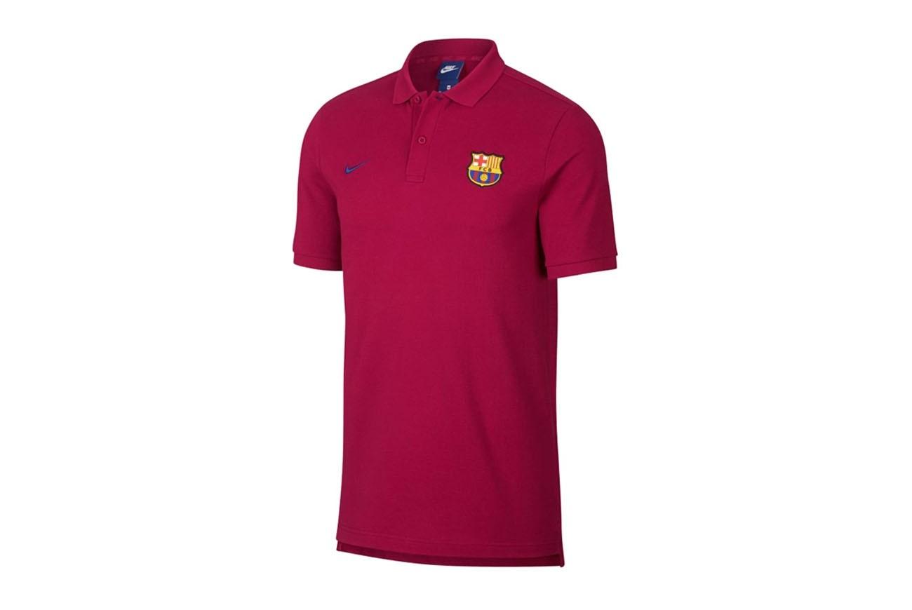 Koszulka FCB M NSW POLO PQ CRE