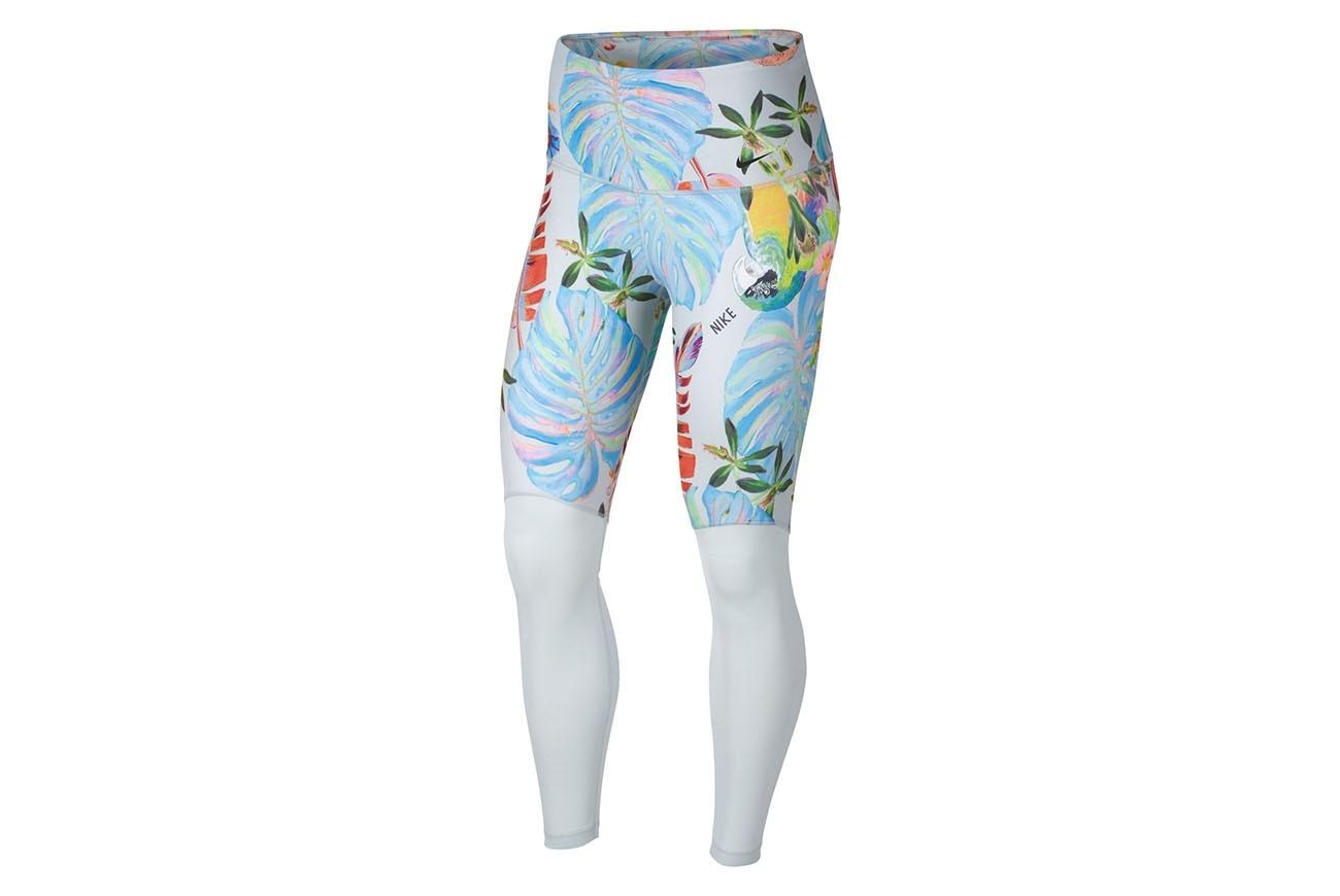 Spodnie W NK PWR 7/8 TGHT HYPER FEMME