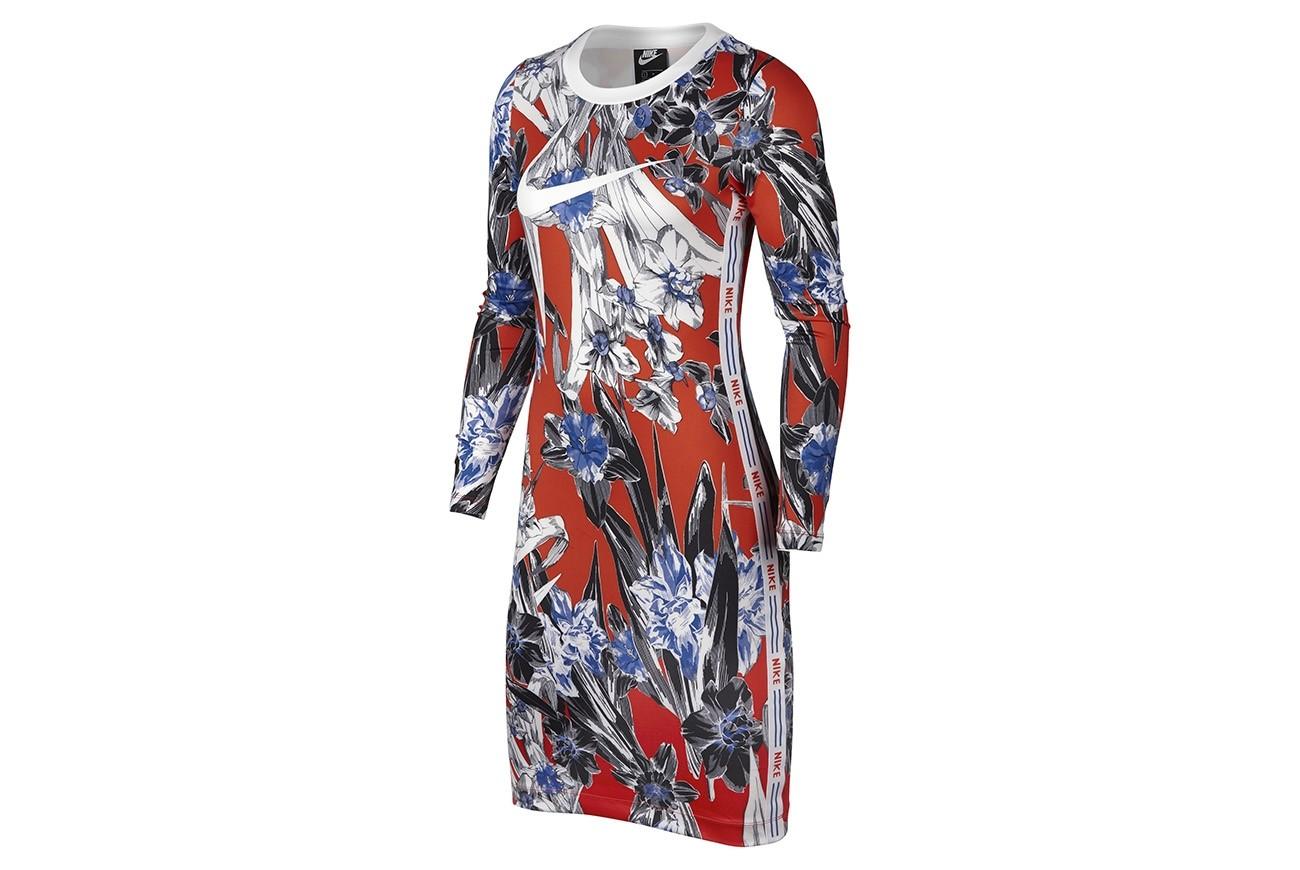 Sukienka W NSW HYP FM DRESS LS AOP