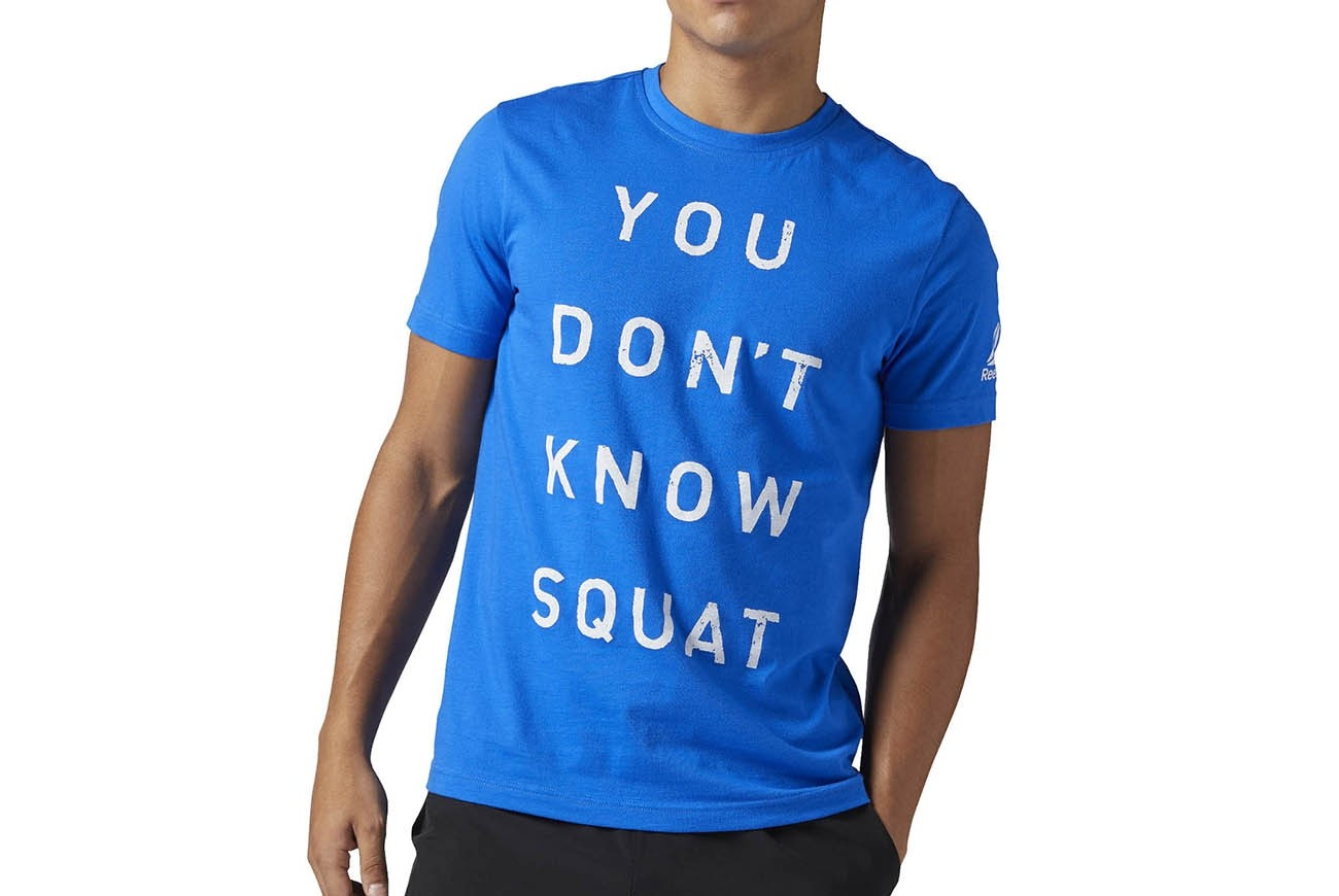 KOSZULKA DONT KNOW SQUAT