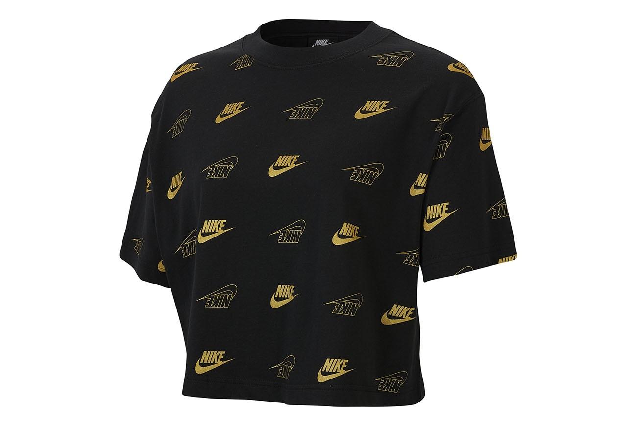 Koszulka W NSW TOP SS CROP BFF SHINE