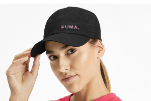 Czapka Ws Shift Cap Puma Black-Bridal Rose